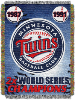 MLB Minnesota Twins Commemorative 48x60 Tapestry Throw