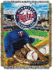 MLB Minnesota Twins Home Field Advantage 48x60 Tapestry Throw