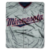 MLB Minnesota Twins 50x60 Raschel Throw