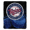 MLB Minnesota Twins SHERPA 50x60 Throw Blanket