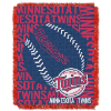 MLB Minnesota Twins 48x60 Triple Woven Jacquard Throw