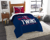 MLB Minnesota Twins Twin Comforter Set