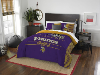 NFL Minnesota Vikings QUEEN Comforter and 2 Shams