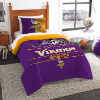 NFL Minnesota Vikings Twin Comforter Set