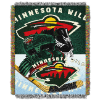 NHL Minnesota Wild Home Ice Advantage 48x60 Tapestry Throw