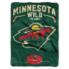 NHL Minnesota Wild 60x80 Super Plush Throw Blanket