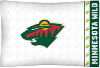 NHL Minnesota Wild Micro Fiber Pillow Cases (set of 2)