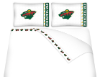 NHL Minnesota Wild Micro Fiber Bed Sheets