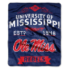 NCAA Mississippi Rebels 50x60 Raschel Throw Blanket
