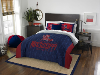 NCAA Mississippi Rebels QUEEN Comforter and 2 Shams