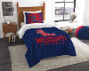 NCAA Mississippi Rebels Twin Comforter Set