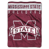 NCAA Mississippi State Bulldogs OVERTIME 60x80 Super Plush Throw