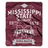NCAA Mississippi State Bulldogs 50x60 Raschel Throw Blanket