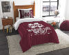 NCAA Mississippi State Bulldogs Twin Comforter Set