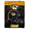 NCAA Missouri Tigers OVERTIME 60x80 Super Plush Throw