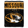 NCAA Missouri Tigers 60x80 Super Plush Throw