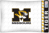 NCAA Missouri Tigers Micro Fiber Pillow Cases (set of 2)