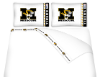 NCAA Missouri Tigers Micro Fiber Bed Sheets