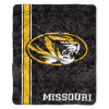 NCAA Missouri Tigers Sherpa 50x60 Throw Blanket