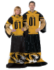 NCAA Missouri Tigers Uniform Huddler Blanket With Sleeves