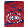 NHL Montreal Canadiens 60x80 Super Plush Throw Blanket