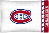 NHL Montreal Canadiens Micro Fiber Pillow Cases (set of 2)