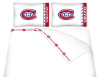 NHL Montreal Canadiens Micro Fiber Bed Sheets