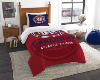 NHL Montreal Canadiens Twin Comforter Set
