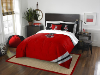 NCAA NC State Wolfpack Full Comforter and 2 Shams