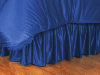 NCAA Kansas Jayhawks Bed Skirt - Locker Room Series