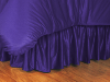 NCAA TCU Horned Frogs Bed Skirt - Locker Room Series