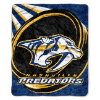NHL Nashville Predators SHERPA 50x60 Throw Blanket