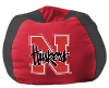 NCAA Nebraska Cornhuskers Bean Bag Chair