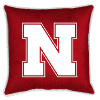 NCAA Nebraska Cornhuskers Pillow - Sidelines Series