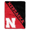 NCAA Nebraska Cornhuskers 50x60 Micro Raschel Throw