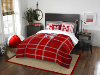 NCAA Nebraska Cornhuskers Full Comforter and 2 Shams