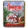 NCAA Nebraska Cornhuskers Home Field Advantage 48x60 Tapestry Throw