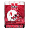 NCAA Nebraska Cornhuskers OVERTIME 60x80 Super Plush Throw