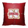 NCAA Nebraska Cornhuskers 18x18 Letterman Pillow