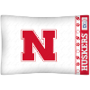 NCAA Nebraska Cornhuskers Micro Fiber Pillow Cases (set of 2)