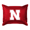 NCAA Nebraska Cornhuskers Pillow Sham - Locker Room Series
