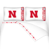 NCAA Nebraska Cornhuskers Micro Fiber Bed Sheets