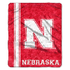 NCAA Nebraska Cornhuskers Sherpa 50x60 Throw Blanket