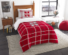 NCAA Nebraska Cornhuskers Twin Comforter with Sham