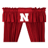 NCAA Nebraska Cornhuskers Valance - Locker Room Series