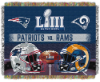 Super Bowl 53 Commemorative DUELING Tapestry