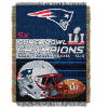NFL New England Patriots Super Bowl 51 Champions Commemorative Tapestry
