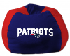 NFL New England Patriots Bean Bag Chair