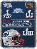 NFL New England Patriots Commemorative 48x60 Tapestry Throw