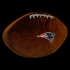 NFL New England Patriots 3D Football Pillow